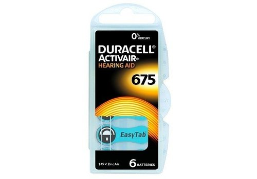 Duracell Duracell 675 Activair EasyTab - 10 colis