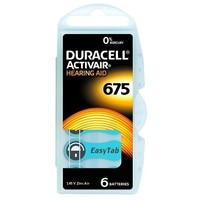 Duracell 675 (PR44) Activair EasyTab - 20 blisters (120 batteries)