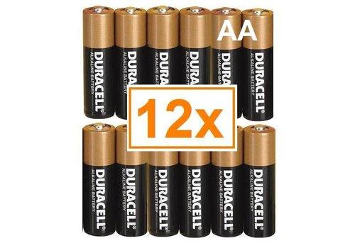 Duracell Duracell Alkaline AA Penlite LR6 - 1 pakje (12 batterijen)