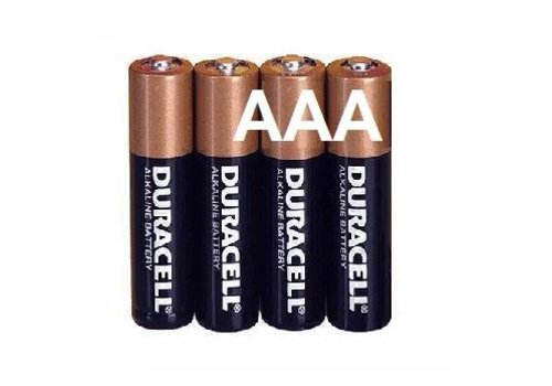 Duracell Duracell Alkaline AAA Micro (LR3) - 1 collis (4 piles)