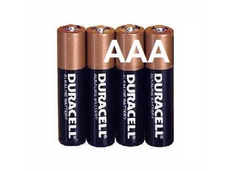 Duracell Duracell Alkaline AAA Micro (LR3) - 1 pack (4 batteries)