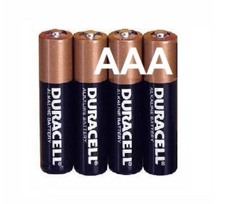 Duracell Alkaline AAA Potlood LR3 - 1 pakje (4 batterijen)