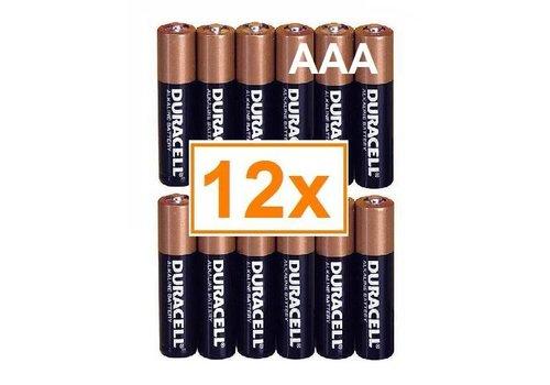 Duracell Duracell Alkaline AAA Micro (LR3) - 1 collis (12 piles)