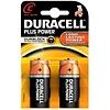 Duracell Duracell Alkaline Plus Power Duralock C Baby (LR14) - 1 pack (2 batteries)