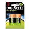 Duracell Duracell C 2200mAh rechargeable (HR14) - 1 collis (2 piles)