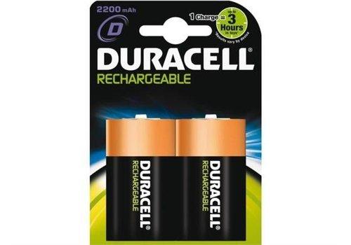 Duracell Duracell D 2200mAh rechargeable (HR20) - 1 collis (2 piles)