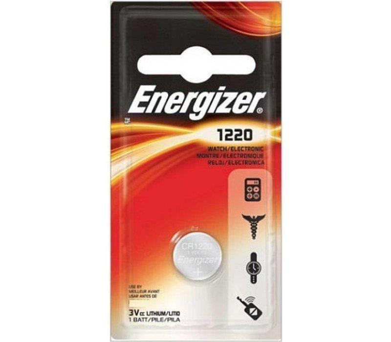 Energizer Lithium CR1220 3V knoopcel Blister 1 - 1 pakje