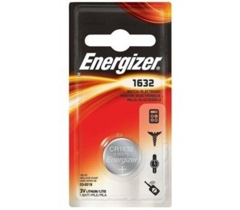 Energizer Pile bouton Lithium CR1632 3V Blister 1 - 1 collis