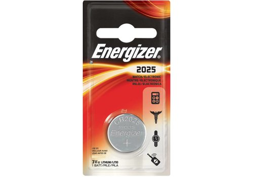 Energizer Energizer Lithium CR2025 3V knoopcel Blister 1 - 1 pakje