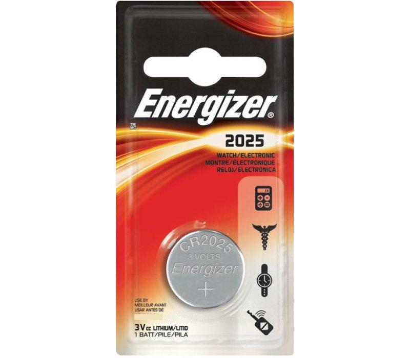 Energizer Pile bouton Lithium CR2025 3V Blister 1 - 1 collis