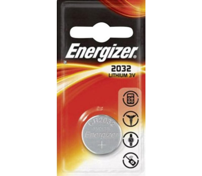 Energizer Pile bouton Lithium CR2032 3V Blister 1 - 1 collis