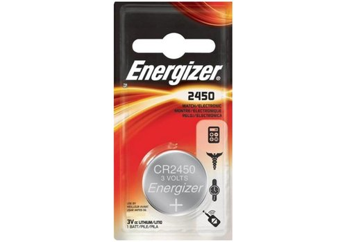 Energizer Energizer Pile bouton Lithium CR2450 3V Blister 1 - 1 collis