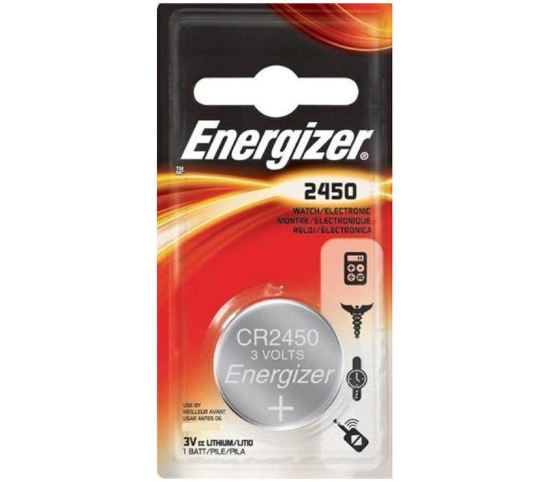 Energizer Pile bouton Lithium CR2450 3V Blister 1 - 1 collis