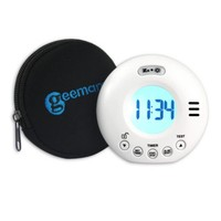 Geemarc Wake n Shake Voyager travel alarm with flash and vibrator