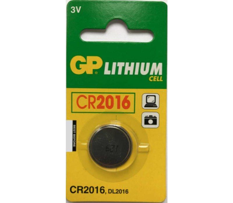 GP Lithium CR2016 3V Blister 1