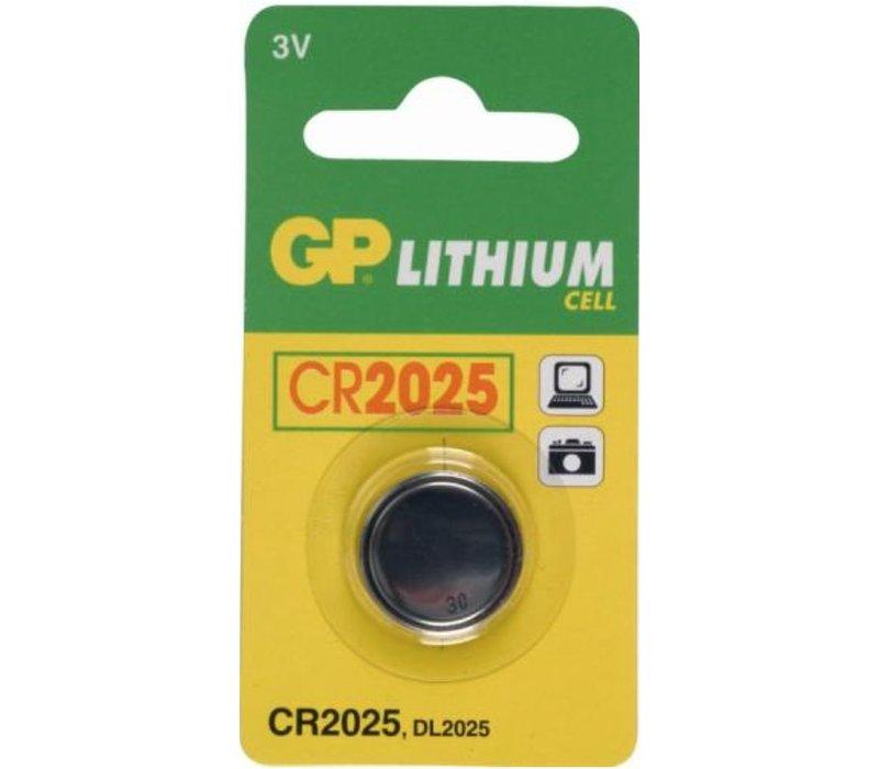 GP Lithium CR2025 3V Blister 1