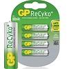 GP GP AAA 800mAh ReCyko+ (rechargeable) (HR03) - 1 pakje (4 batterijen)