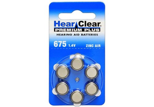 HearClear HearClear 675 Premium Plus - 1 pakje