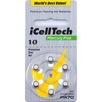 iCellTech 10DS  (PR70) Platinum - 1 colis (6 piles)