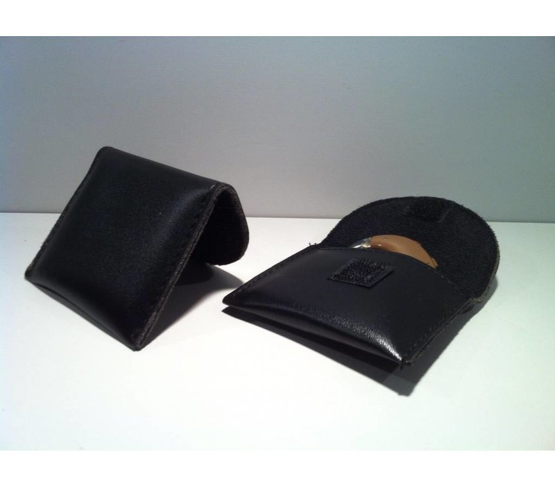 Leather-look Hearing Aid Storage Pouch