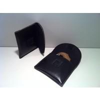Coffret de rangement de l'appareil auditif imitation cuir