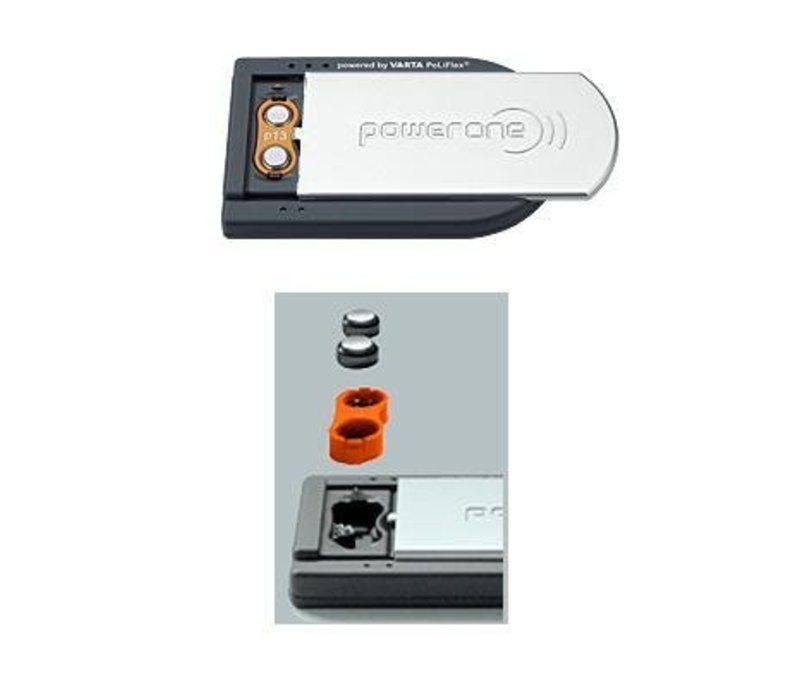 PowerOne CARD CHARGER for 2 ACCUplus size 675 batteries