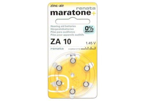 Renata (Swiss) Renata (Maratone+) ZA10 Mercury Free - 20 colis (Qualité Suisse) **SOLDES**