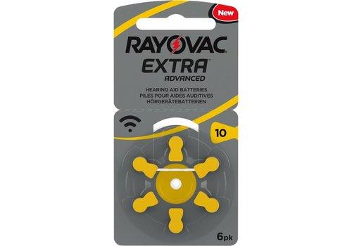 Rayovac Rayovac 10 Extra Advanced (blister/6) - 1 pakje