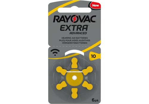 Rayovac Rayovac 10 Extra Advanced (blister/6) – 20 blisters