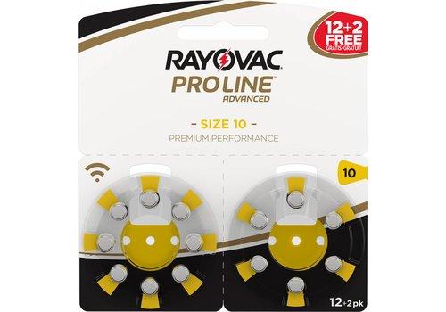 Rayovac Rayovac 10 ProLine Advanced (blister/14) - 1 colis double