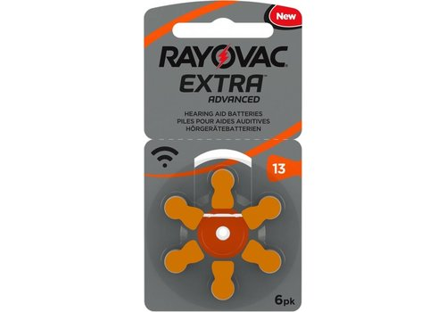 Rayovac Rayovac 13 Extra Advanced (blister/6)- 20 colis