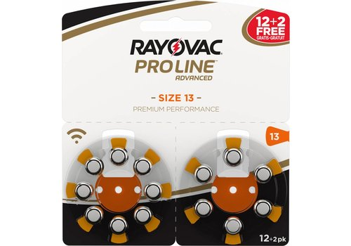 Rayovac Rayovac 13 ProLine Advanced (blister/14) - 1 colis double