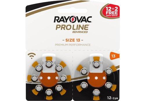 Rayovac Rayovac 13 ProLine Advanced (blister/14) - 1 double blister