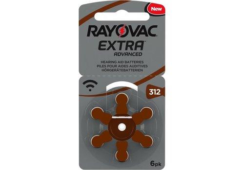 Rayovac Rayovac 312 Extra Advanced (blister/6) - 10 pakjes