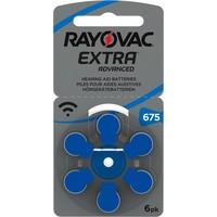Rayovac 675 (PR44) Extra Advanced - 20 pakjes (120 batterijen)
