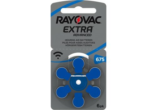 Rayovac Rayovac 675 Extra Advanced - 20 colis