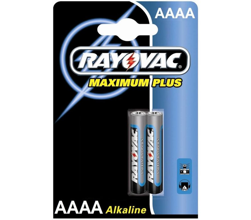 Rayovac Maximum Plus Alkaline AAAA-Mini LR8D425 - 1 pack