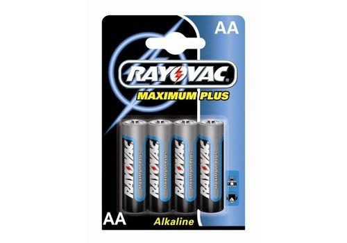 Rayovac Rayovac Maximum Plus Alkaline AA Penlite LR6 - 1 pakje