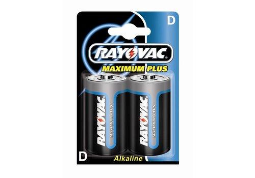 Rayovac Rayovac Maximum Plus Alkaline D Mono LR20 - 1 pack