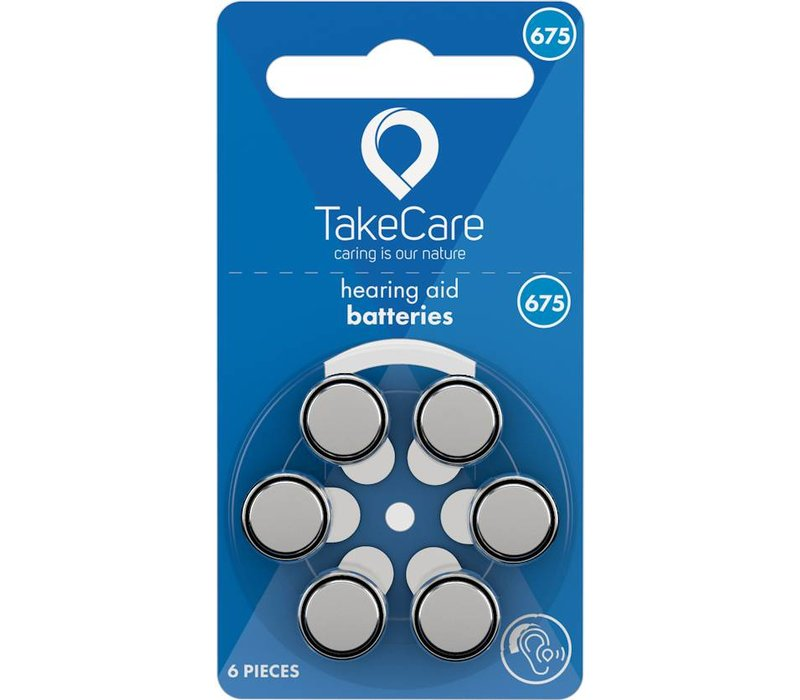 Take Care 675 (PR44) – 1 blister (6 batteries) **BUDGET**