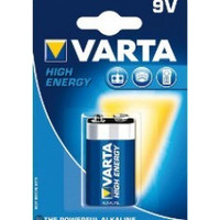 Varta Alcaline High Energy 9V E-Blok 6LR61 4922 - 1 collis