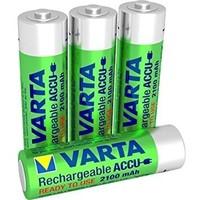 Varta AA 2100mAh rechargeable (HR6) - 1 pakje (4 batterijen)