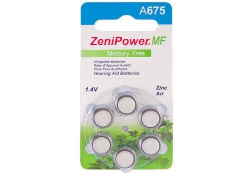 ZeniPower ZeniPower A675 – 1 blister