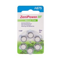 ZeniPower A675 - 10 colis (60 piles)
