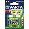Varta Varta AA 2600mAh rechargeable (HR6) - 1 pack (4 batteries)