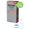 Rayovac Rayovac 13 (PR48) Extra Advanced – 5 colis +1 colis gratuit (30+6 = 36 piles)