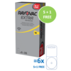 Rayovac Rayovac 10 (PR70) Extra Advanced - 5 pakjes +1 pakje gratis (30+6 = 36 batterijen)