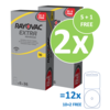 Rayovac Rayovac 10 (PR70) Extra Advanced – 10 blister +2 blister free (60+12 = 72 batteries)