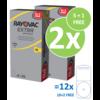 Rayovac Rayovac 10 (PR70) Extra Advanced - 10 colis +2 colis gratuit (60+12 = 72 piles)