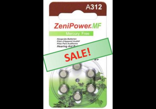 ZeniPower ZeniPower A312 – 1 blister